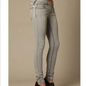 Free People Super Skinny Jeans Denim Low Rise